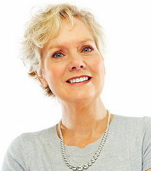 stock photo of a mature woman